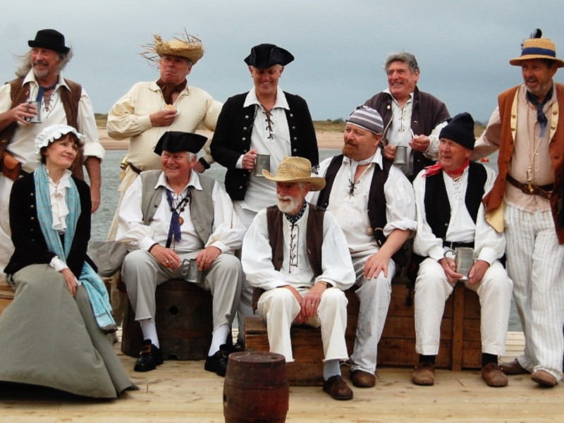 The Exmouth Shanty Men