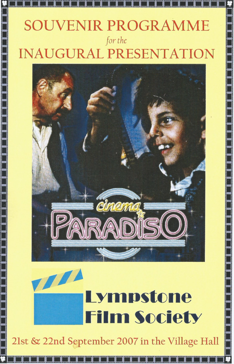 Lympstone Film Society Programme